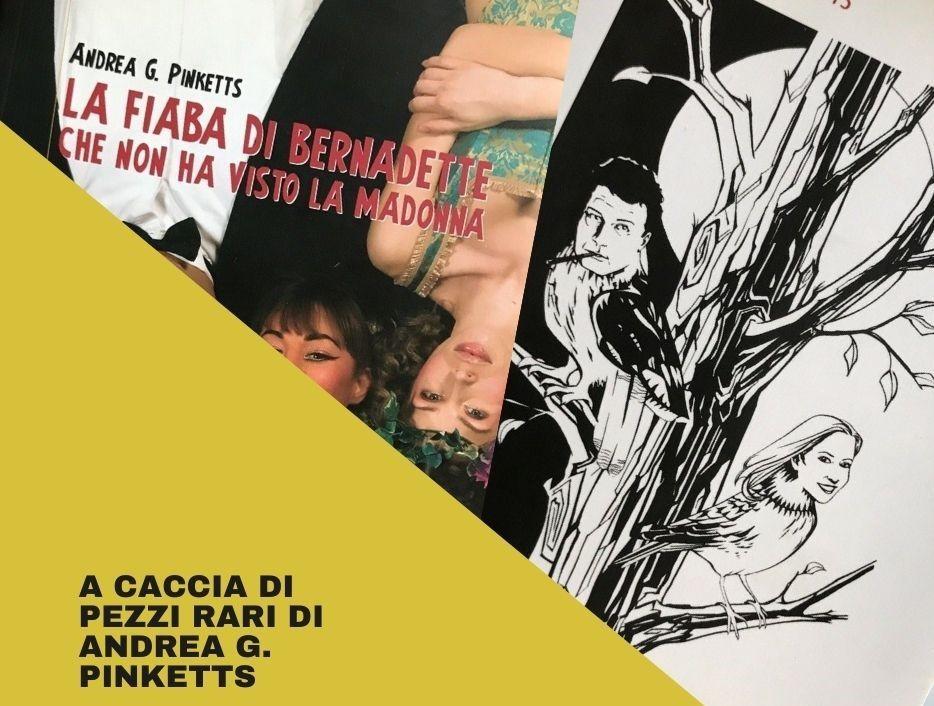 Due rarità di Andrea G. Pinketts e i nuovi territori di ricerca del noir italiano