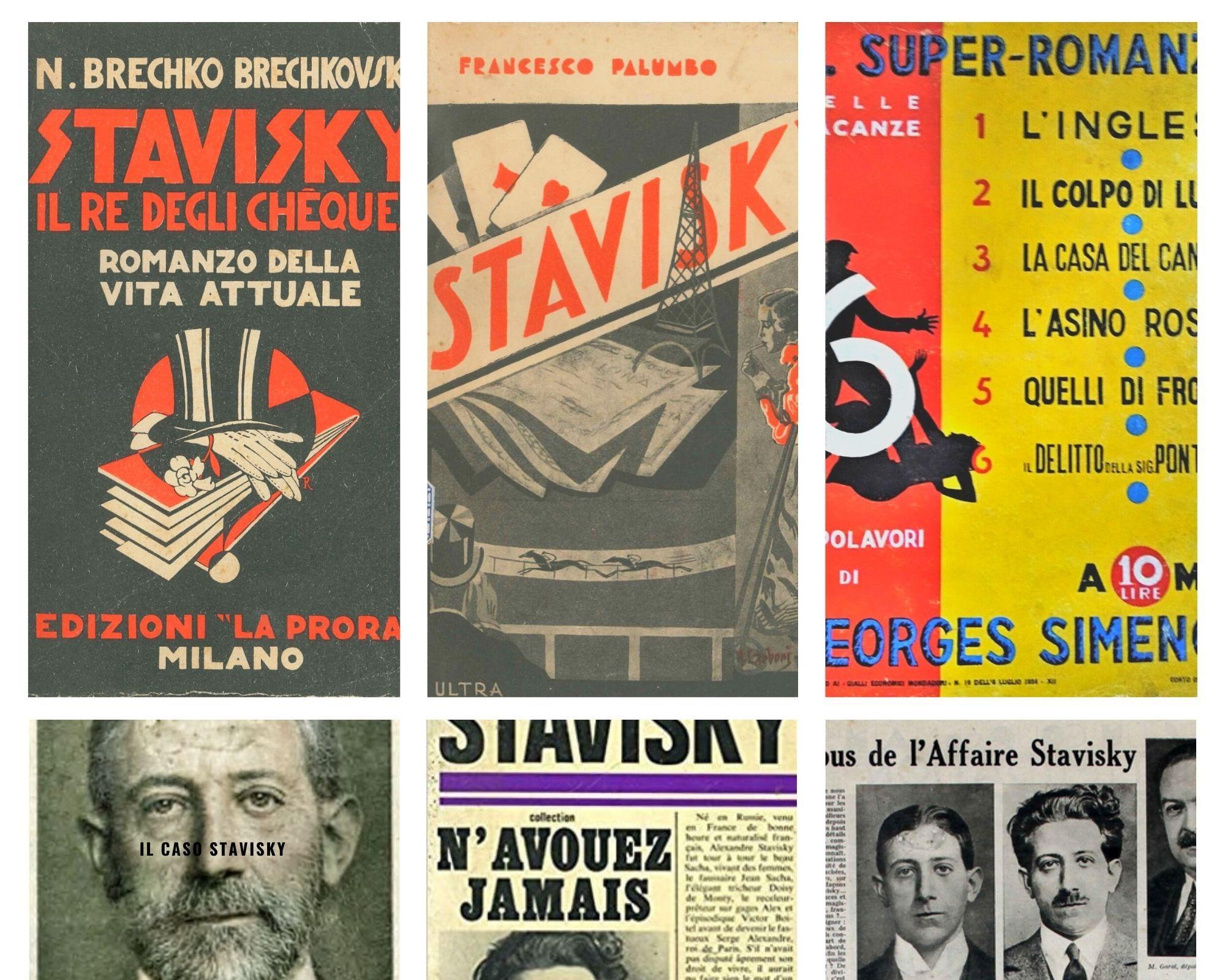 I libri sulla questione Stavisky: scandalo e corruzione nella Francia degli anni '30