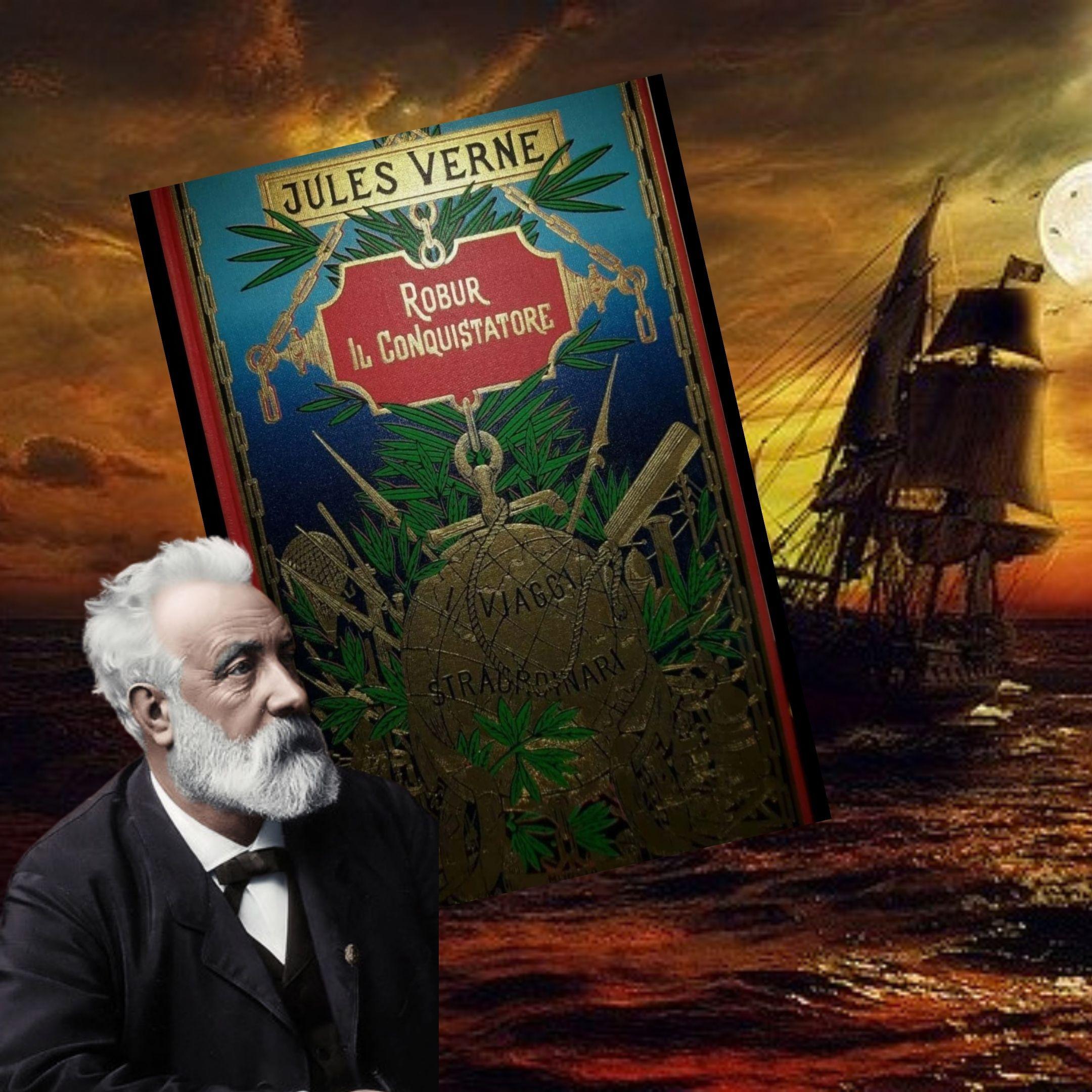 """""""Robur il Conquistatore"""", di Jules Verne: l'attualità non passa mai di moda!"""