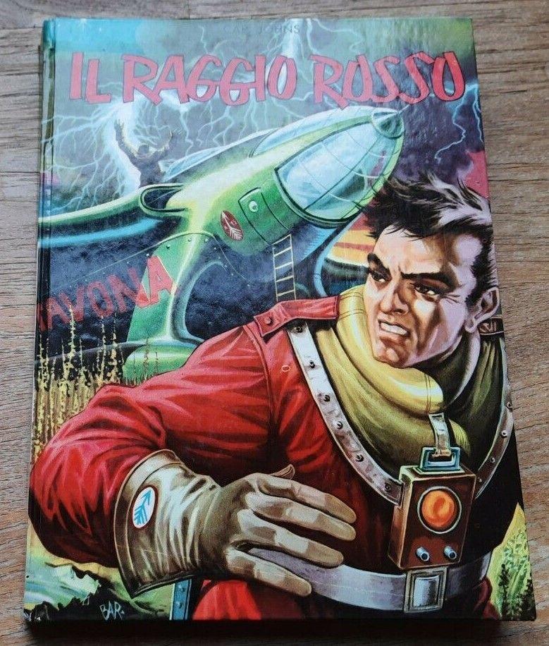 RARISSIMO LIBRO FANTASCIENZA VINTAGE IL RAGGIO ROSSO JOHNS LA SORGENTE 1959