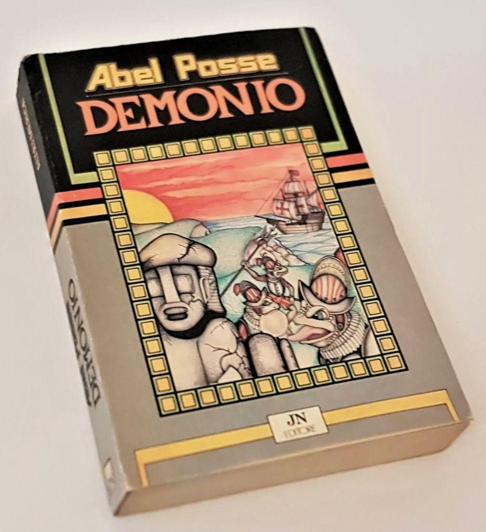Abel Posse, DEMONIO – JN editore 1985 – raro introvabile – A 40 €
