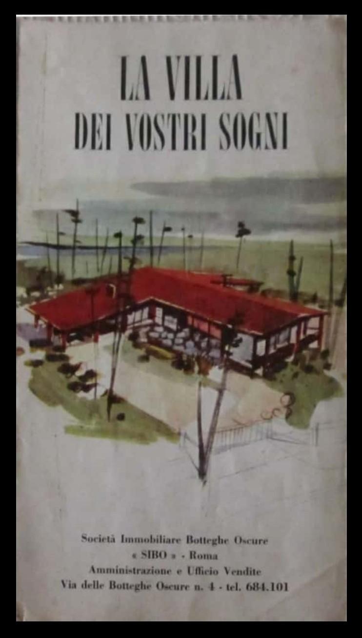 """Ecco """"La villa dei vostri sogni"""": per i comunisti degli anni '60"""