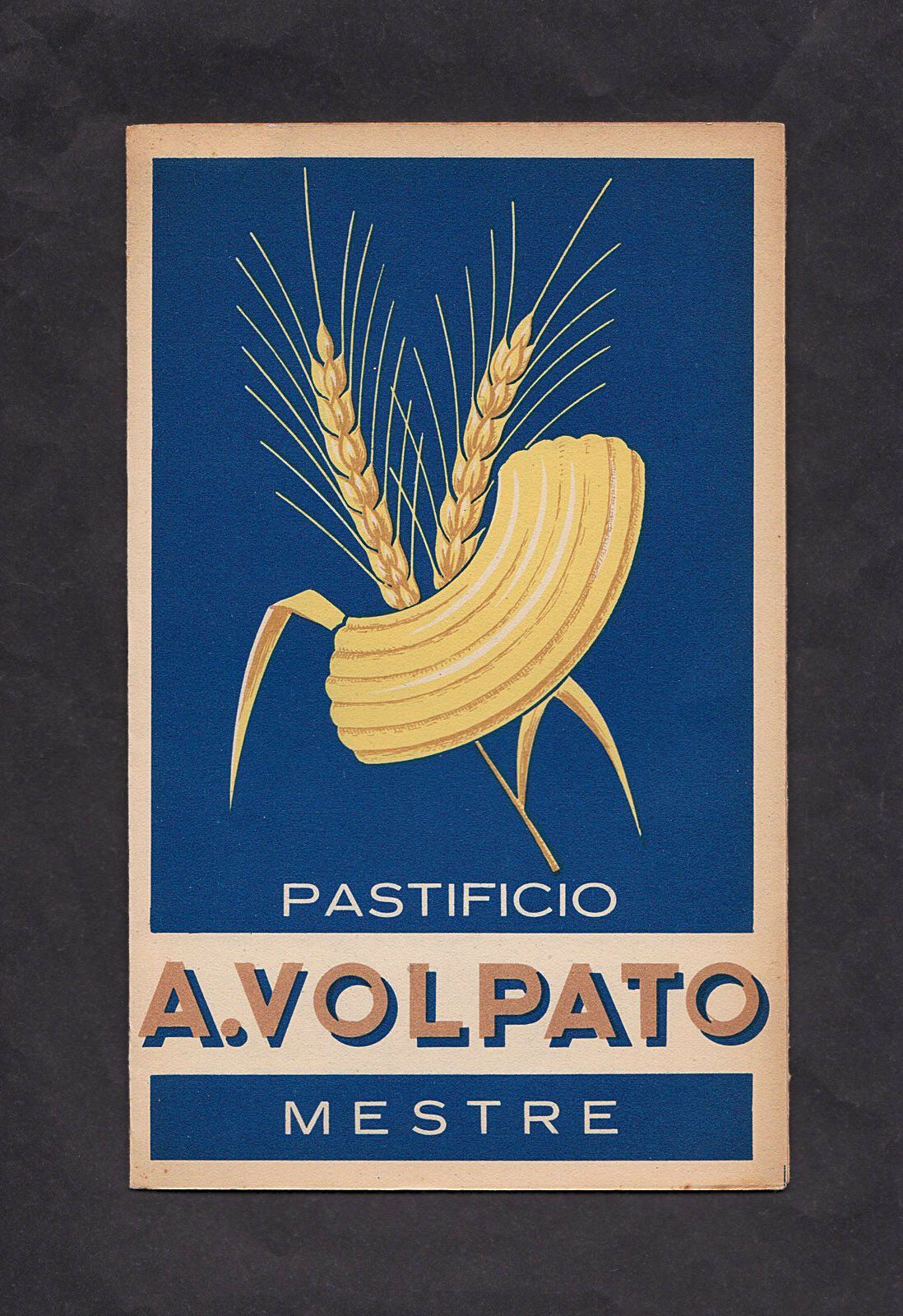"""Catalogo """"Pastificio A. Volpato"""" di Mestre, anni '40-'50 – a 20 €"""