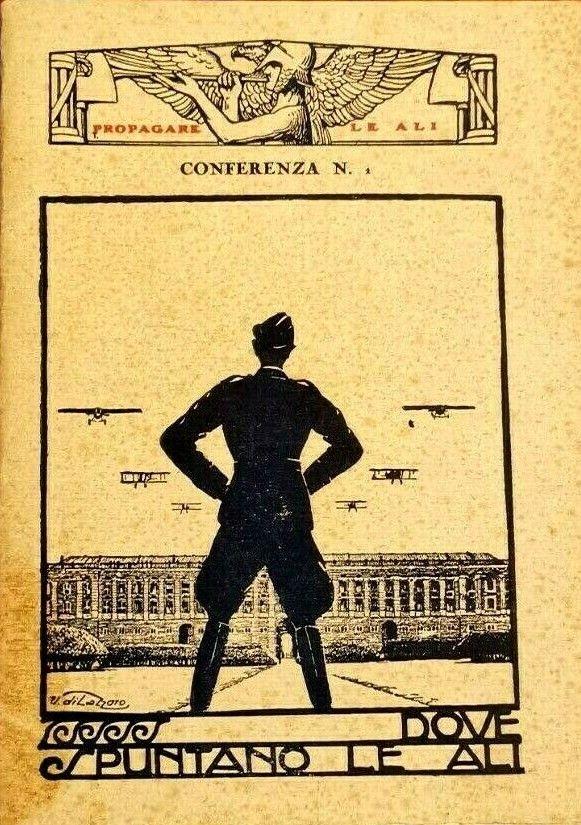 """Sconosciuto in SBN """"Dove spuntano le ali"""": Accademia Aeronautica fascista anni '20"""
