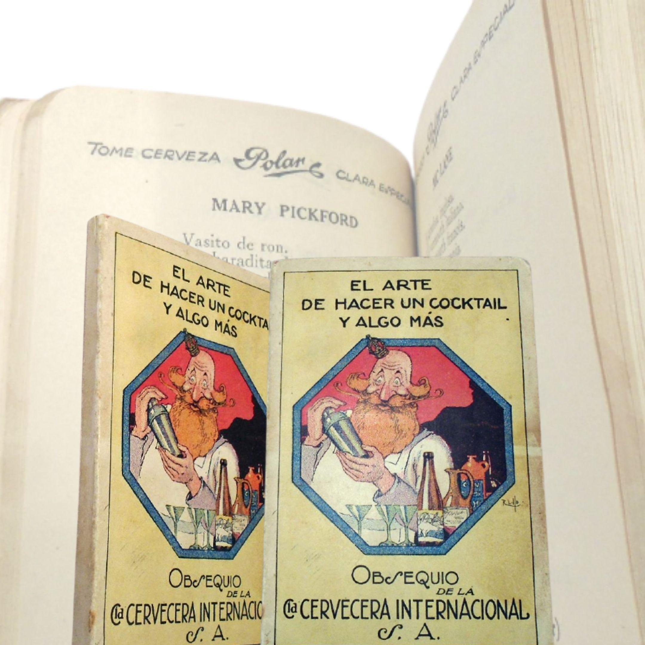 """Un gioiello strepitoso: """"El Arte De Hacer Un Cocktail Y Algo Mas"""" (La Habana, 1927): alle origini del Mojito e del Mary Pickford"""