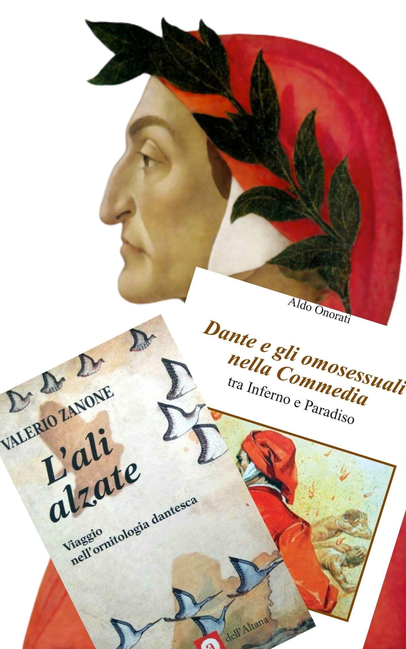 """Due libri curiosi e insoliti sulla """"Commedia """" di Dante Alighieri"""