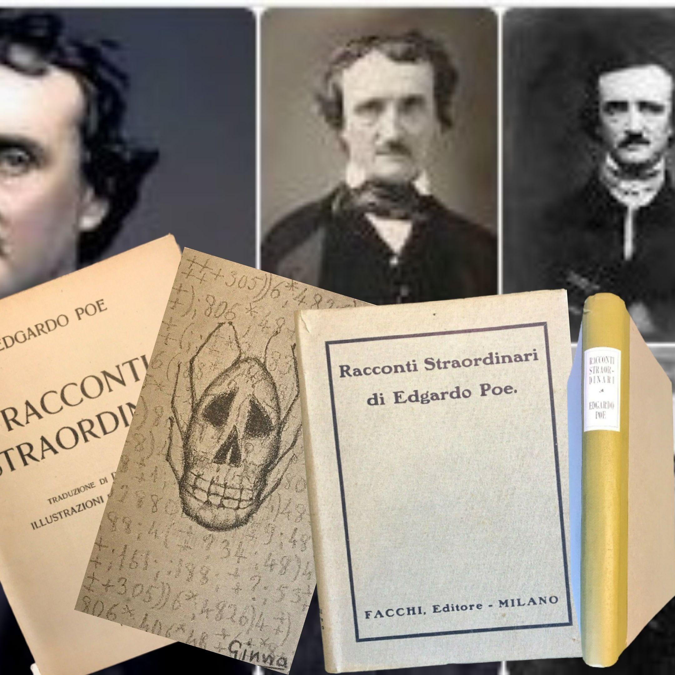 """Racconti straordinari"" di Edgardo Poe illustrati dal futurista Arnaldo Ginna"