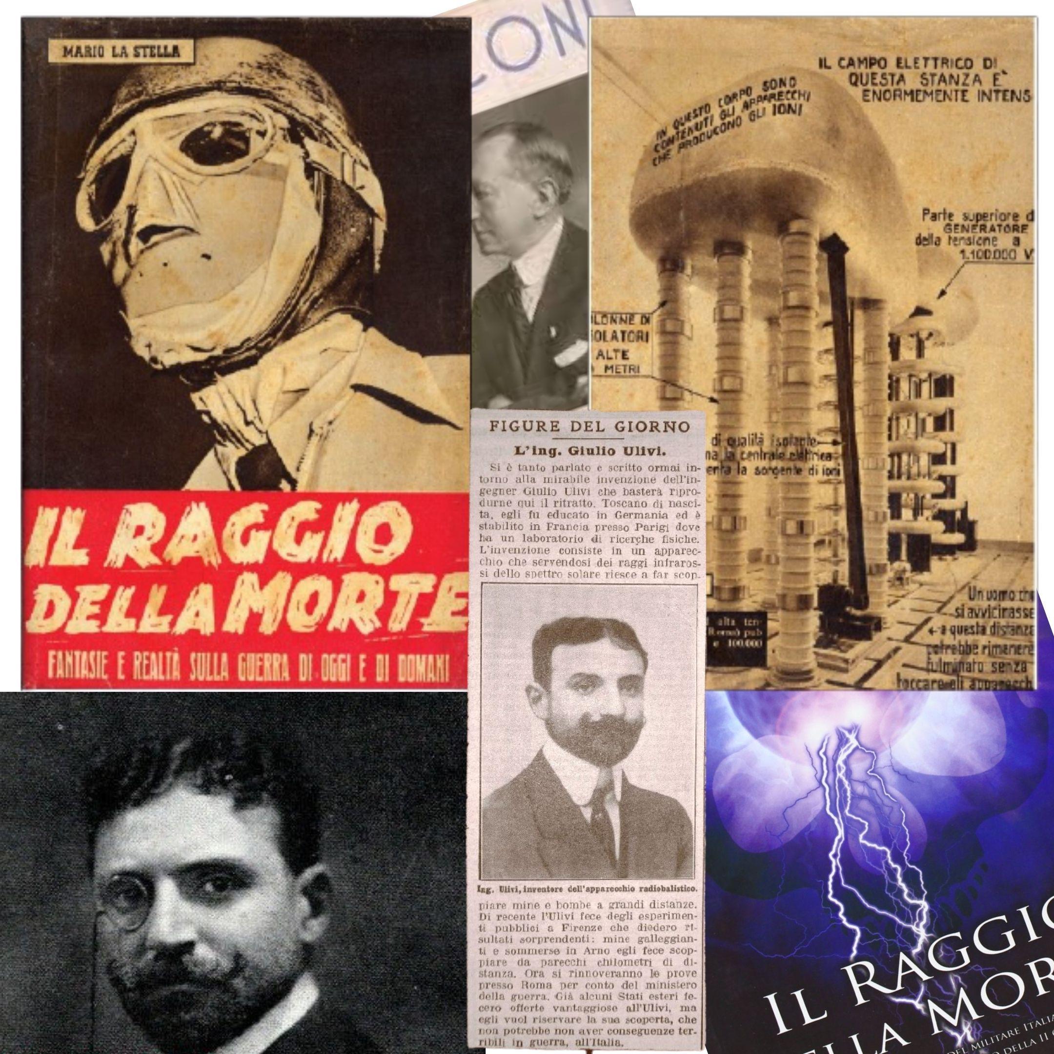 """In margine al """"raggio della morte"""" di Giulio Ulivi: quando dei ritagli di giornale si rivelano più preziosi di un libro"""
