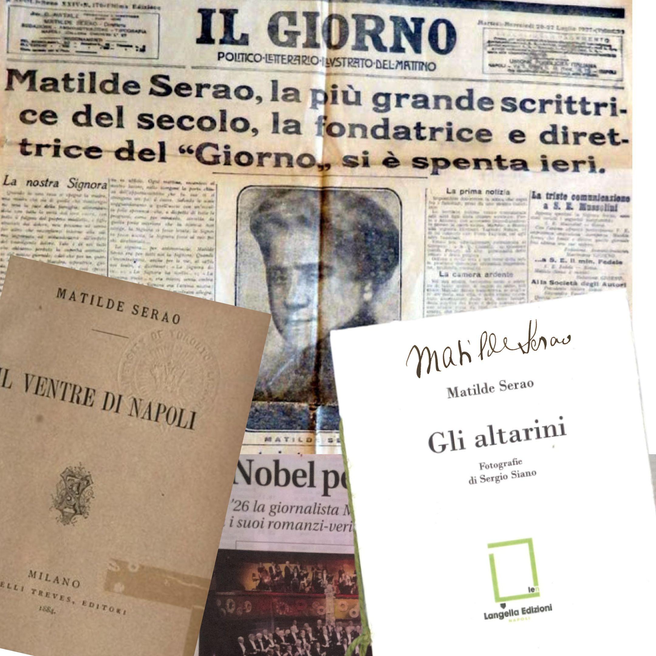 Da Napoli una voce critica ma autentica, che non si finisce mai di scoprire: Matilde Serao