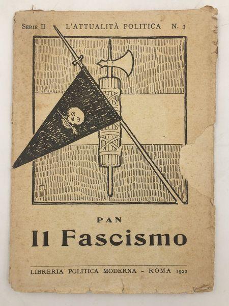 Un libro proibito di Francesco Perri agli esordi del Fascismo: scomparso da tempo