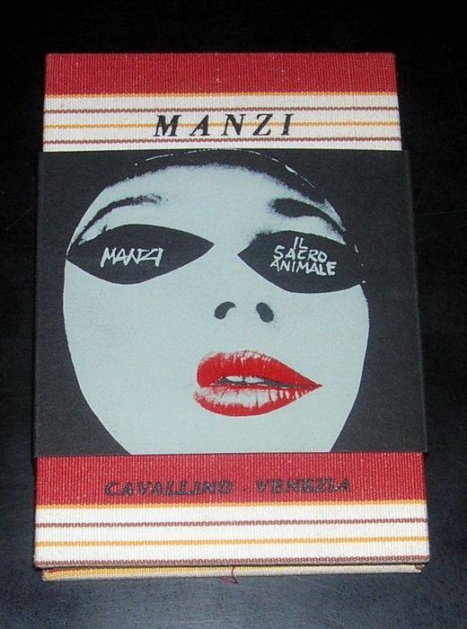 """""""Il sacro animale"""" di Riccardo Manzi (Edizioni del cavallino, 1966): in scadenza un'asta con un libro oggetto unico!"""