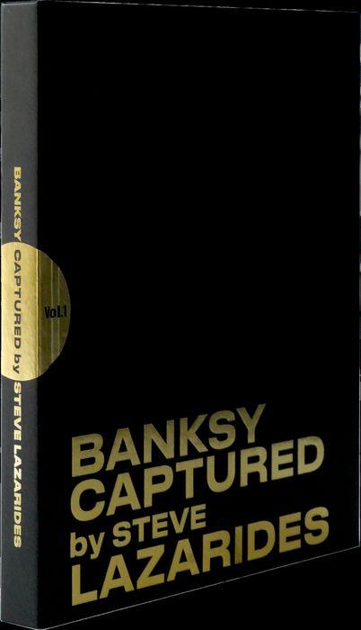 """""""Banksy Captured"""", di Steve Lazarides: l'edizione Deluxe Black con cofanetto in asta"""