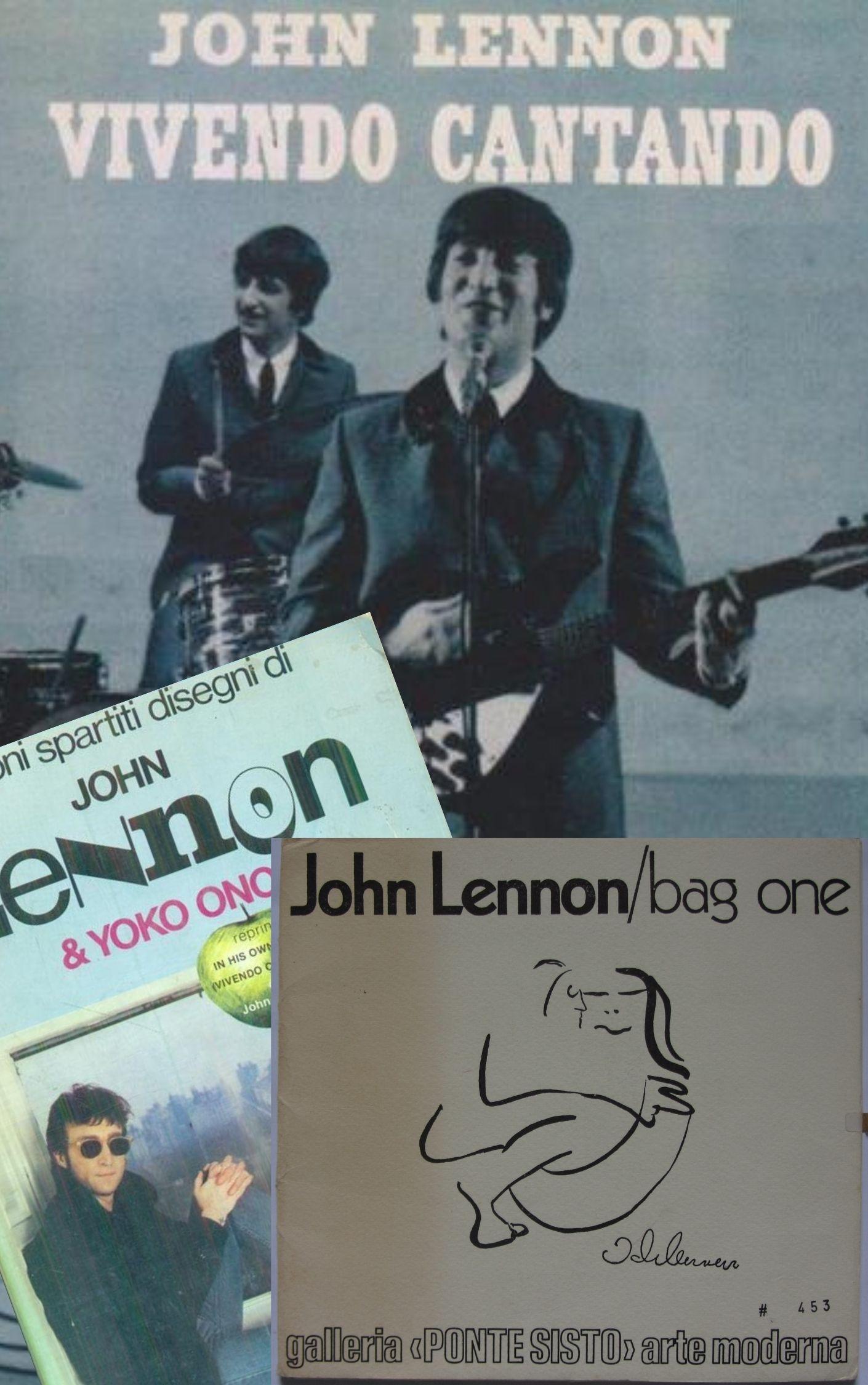 John Lennon 40: e per una volta andiamo a caccia non di canzoni ma di disegni e libri