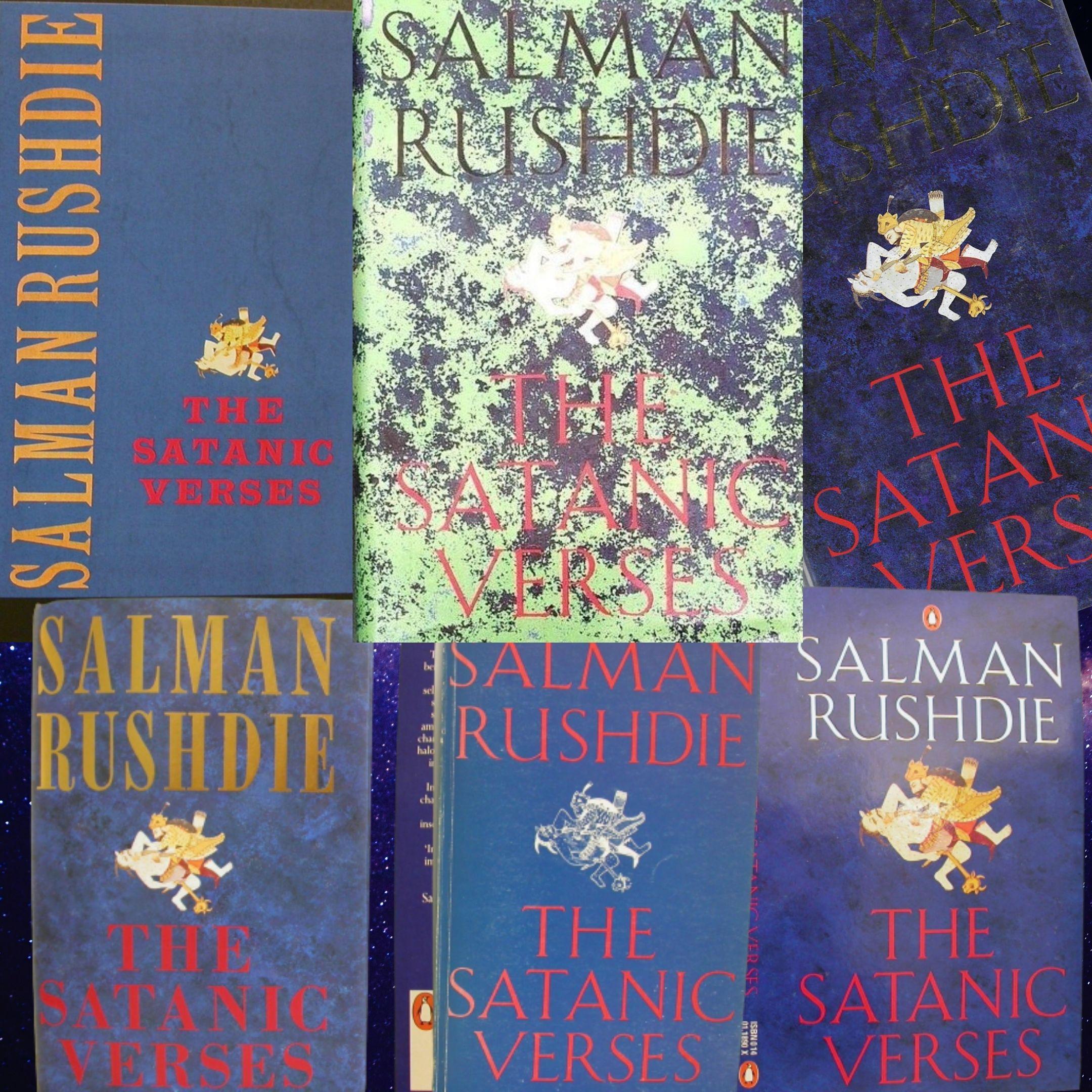 """""""I versi satanici"""" di Salman Rushdie: alla scoperta delle grandi rarità: edizioni numerate, tascabili macerati e bozze di stampa sorprendenti"""