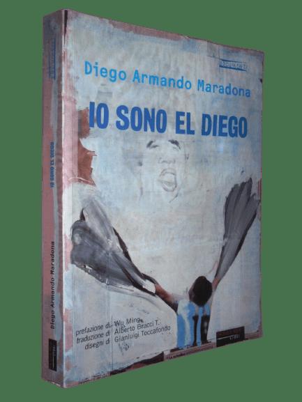 Io sono el Diego: rara prima edizione (2002) dell'autobiografia di Maradona in asta su eBay