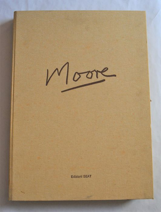 Ecco un bel regalo di Natale: Henry Moore 50 tavole a colori (1983): l'asta scade proprio alla vigilia!