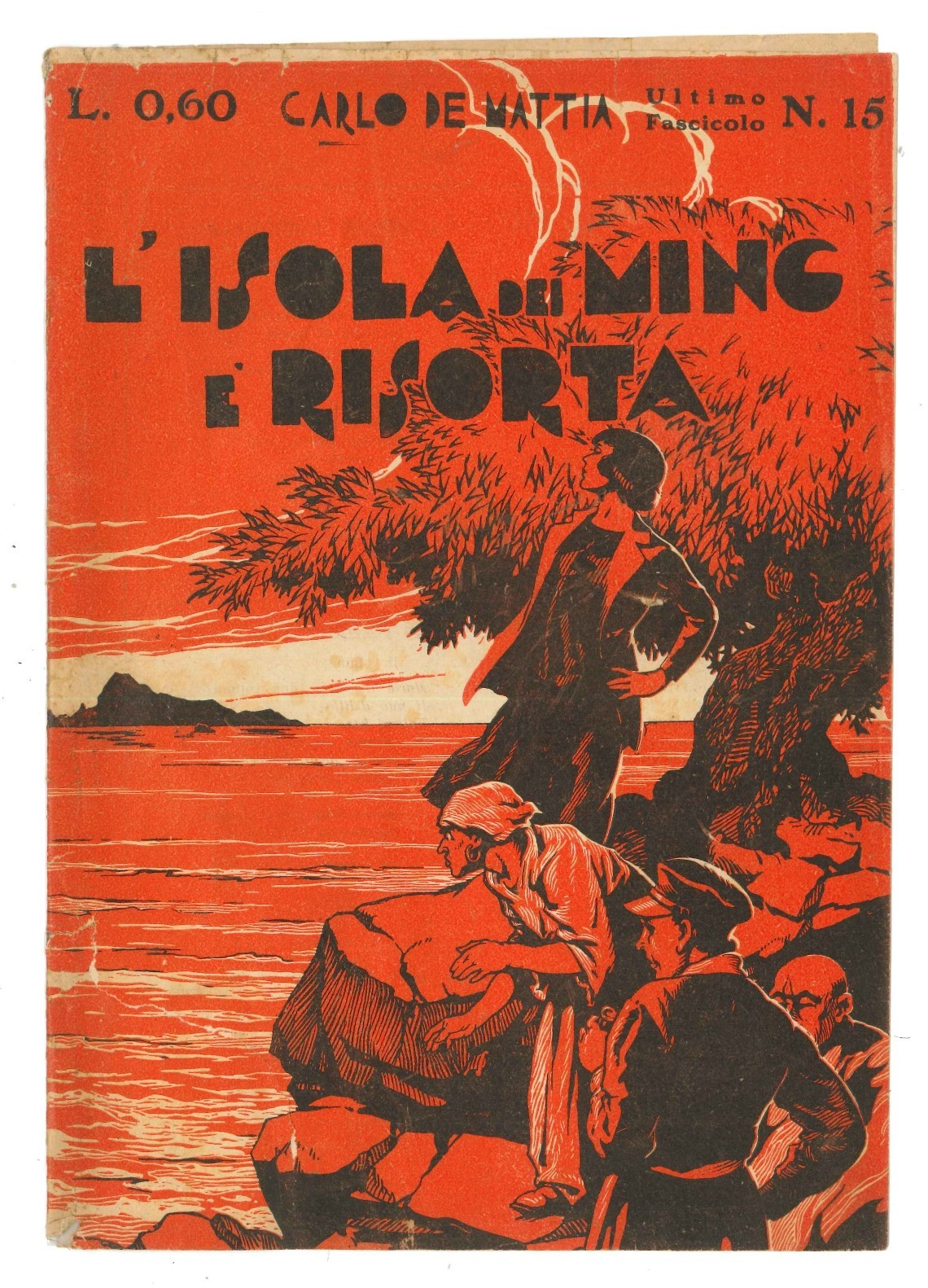 """""""L'isola dei Ming"""" di Carlo De Mattia come può risorgere se non se ne trova più una copia!"""