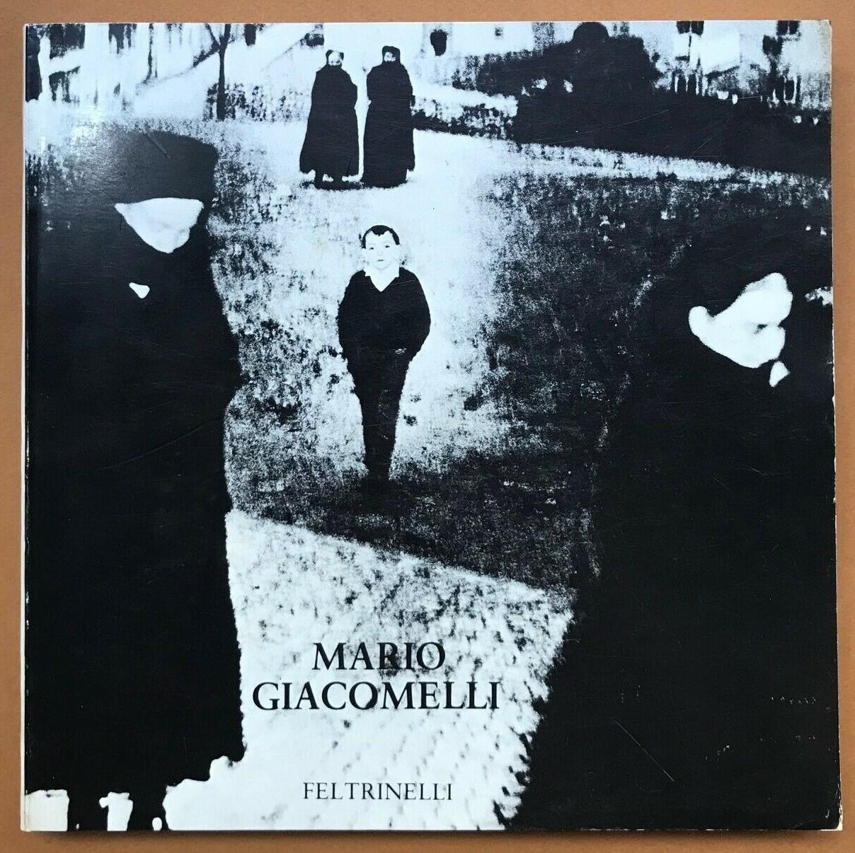 """""""Mario Giacomelli"""" di Arturo Carlo Quintavalle (1980): lo studio principale sul grande fotografo di Senigallia"""
