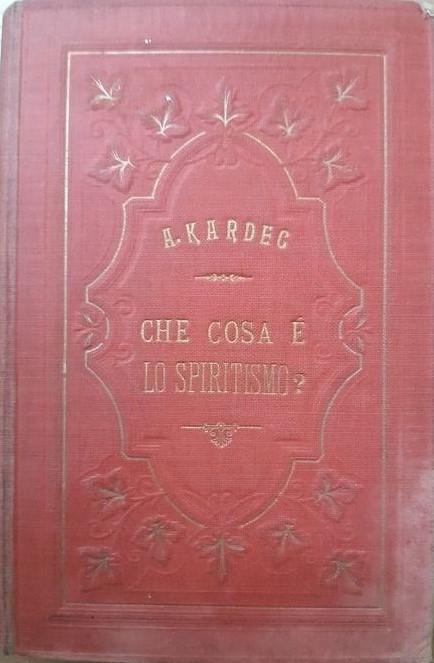 La prima edizione di questo libro sullo Spiritismo di Allan Kardec (1884)
