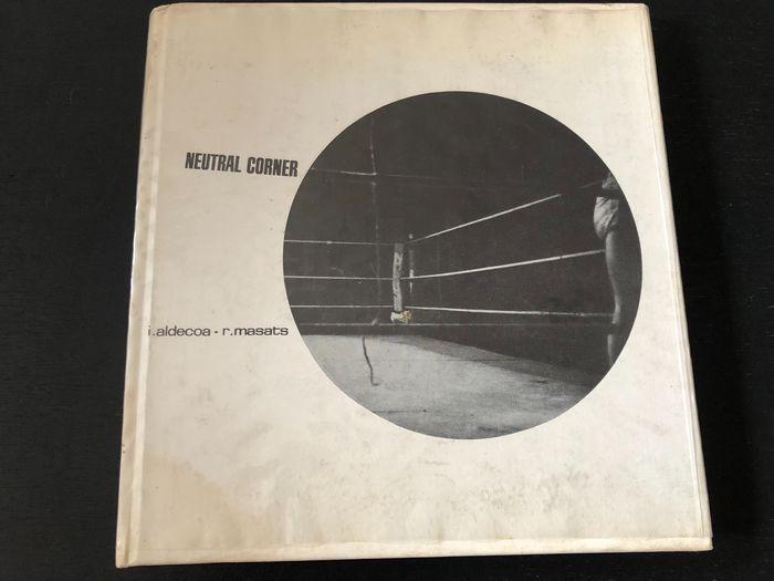 """""""Neutral Corner"""", di Ignacio Aldecoa (1962): un geniale libro spagnolo in asta – sarà uno dei più ricercati nel prossimo futuro"""