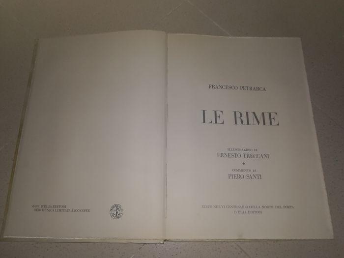 """In scadenza l'asta con """"Le Rime e i Trionfi Illustrati"""" di Francesco Petrarca"""": un'edizione commemorativa del 1974 in cento copie"""