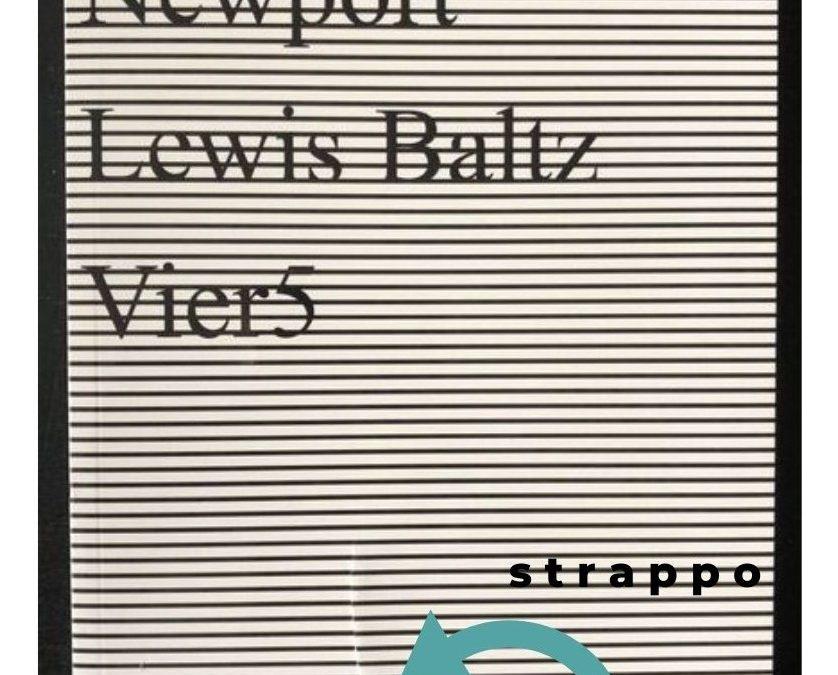 Il grande fotografo Lewis Baltz e il suo libro in sole 250 copie tutte con la copertina strappata!