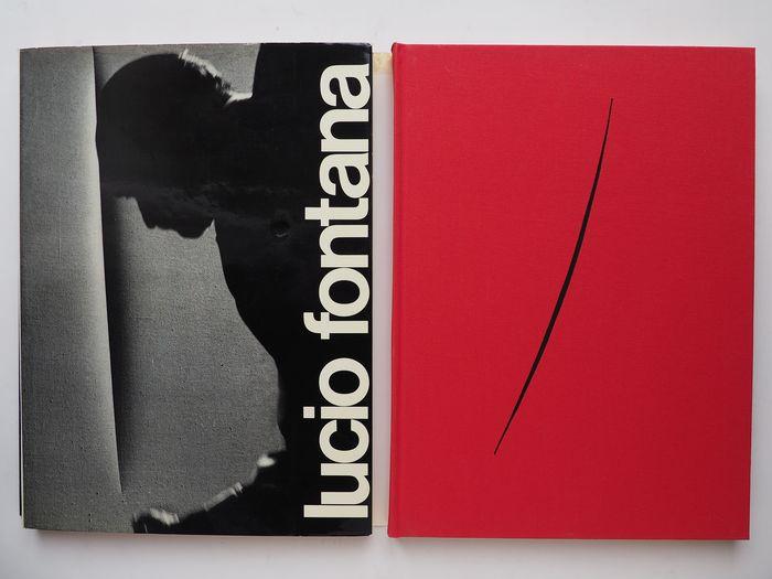 """L'opera assoluta sul genio di Lucio Fontana: il raro """"Catalogue Raisonné"""" (1974) in asta"""