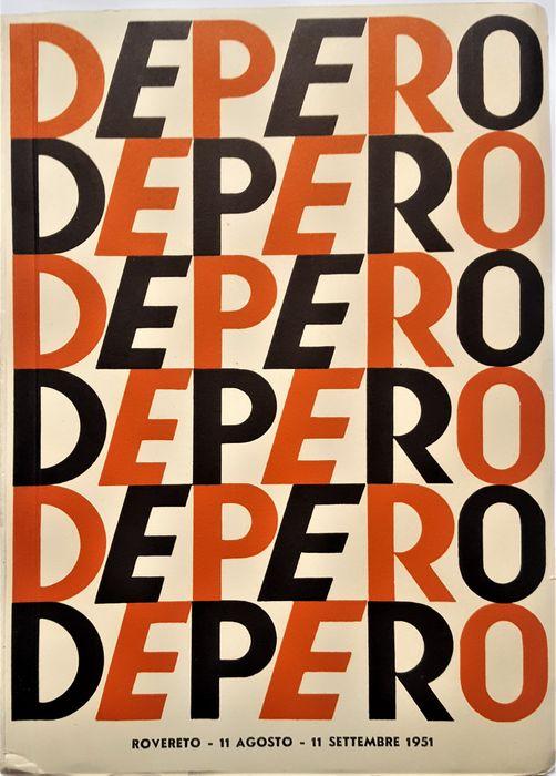 Tra poche ore questo iconico libro della 88ma Mostra di Fortunato Depero (1951) verrà aggiudicato sottoprezzo su Catawiki