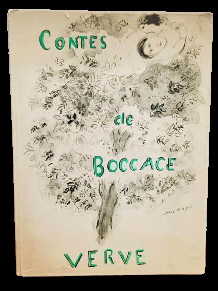"""""""Les contes de Boccace: Decameron"""" (Racconti del Boccaccio) illustrati da Marc Chagall (1950) in asta"""