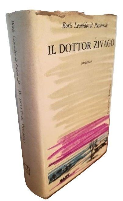 """Una discreta copia de """"Il Dottor Zivago"""" di Boris Pasternak (prima edizione 1957) in asta a un prezzo interessante"""