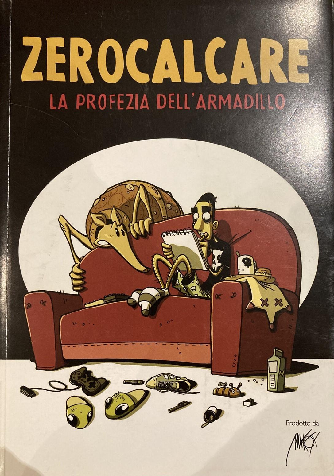 """In asta fa furore la prima edizione assoluta de """"La profezia dell'armadillo"""" diZerocalcare(2011)"""