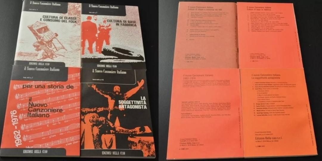 il nuovo canzoniere italiano edizioni bella ciao 4 volumi rarissimo. A 19,90 €