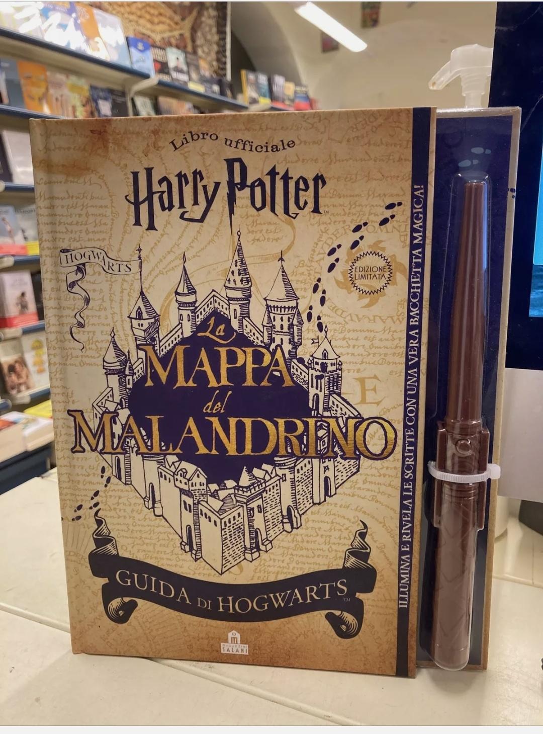 """HARRY POTTER LIBRO UFFICIALE """"LA MAPPA DEL MALANDRINO"""" ESAURITO INTROVABILE!!!"""