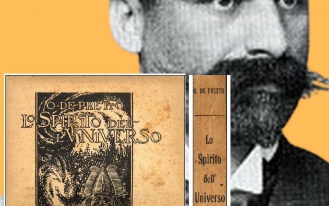 """Cento anni fa usciva """"Lo Spirito dell'Universo"""" (Bocca, 1921) di Olinto De Pretto: il libro che rischiò di riassegnare la Relatività!"""