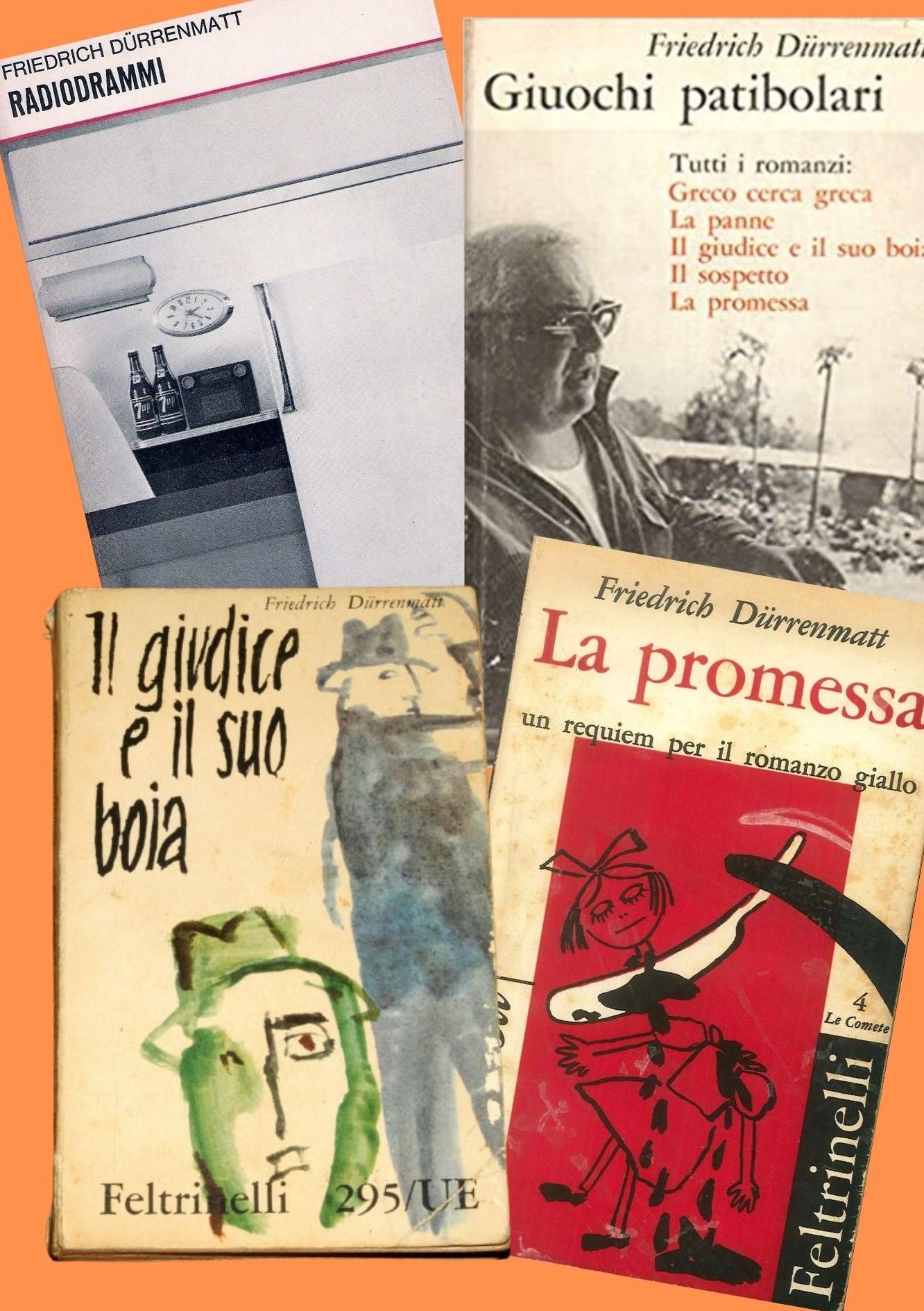 """100 anni fa nasceva il grande scrittore svizzero Friedrich Dürrenmatt: l'antagonista del """"giallo classico""""!"""