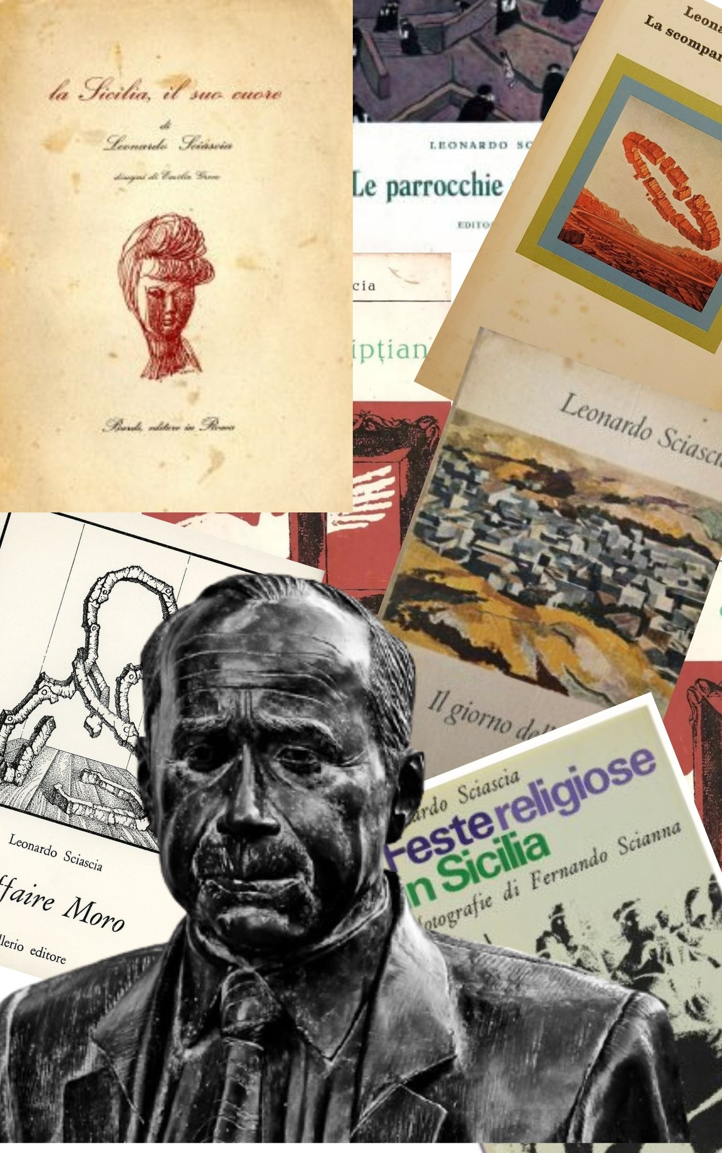 100 anni fa nasceva a Racalmuto il grande scrittore Leonardo Sciascia: i suoi libri più rari e ricercati!