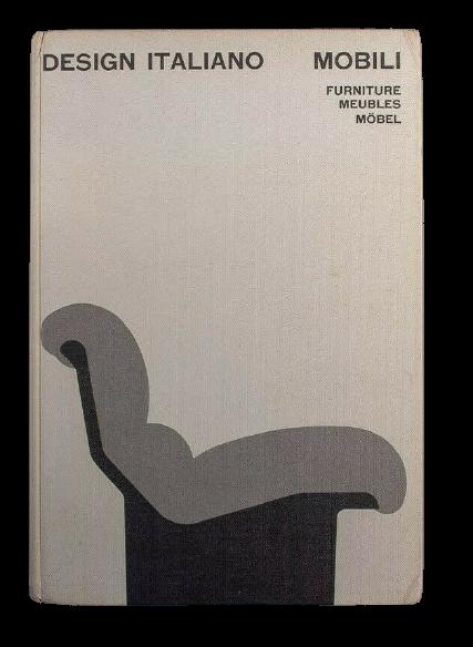 """""""Design italiano: mobili"""" a cura di Enrichetta Ritter, Bruno Munari e Gillo Dorfles (1968)"""