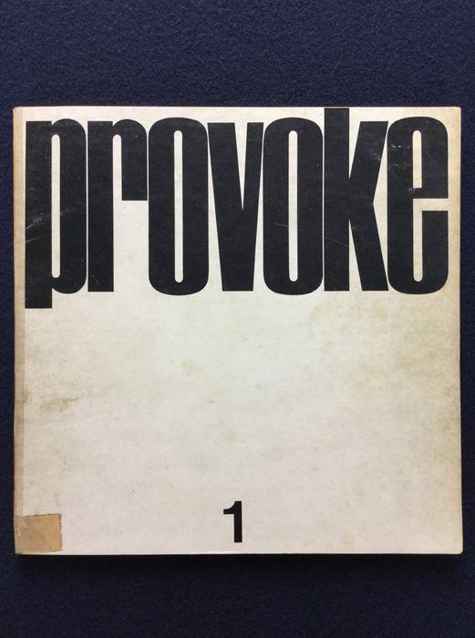 L'iconico n. 1 della rivista Provoke (1968): il progetto che ha influenzato la fotografia giapponese moderna