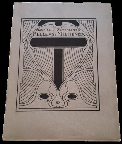 """""""Pelleas e Melisenda"""" di Maurice Maeterlinck (Claudio Argentieri, 1922): un gioiello!"""