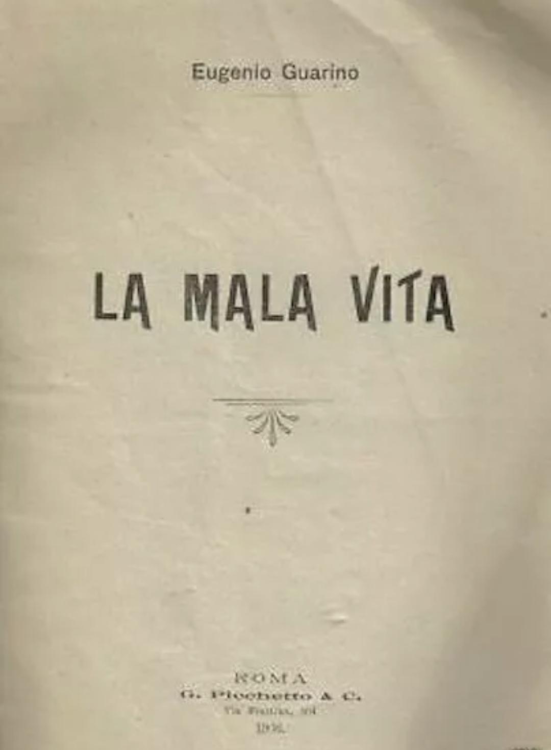 NAPOLI MALAVITA CAMORRA LOTTO MONARCHIA ELEZIONI CUOCOLO ONORATA SOCIETA' 1906
