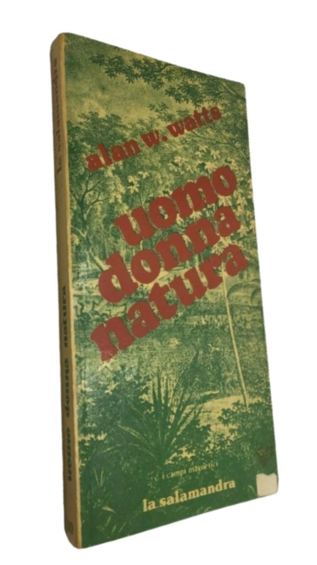 Alan W. Watts UOMO DONNA NATURA 1a ed. 1978 Raro e ricercato. Libro cult a 69,90 €