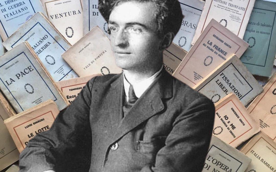 Oggi 95 anni fa moriva Piero Gobetti. Segni particolari: autore, editore, traduttore, filosofo, genio!
