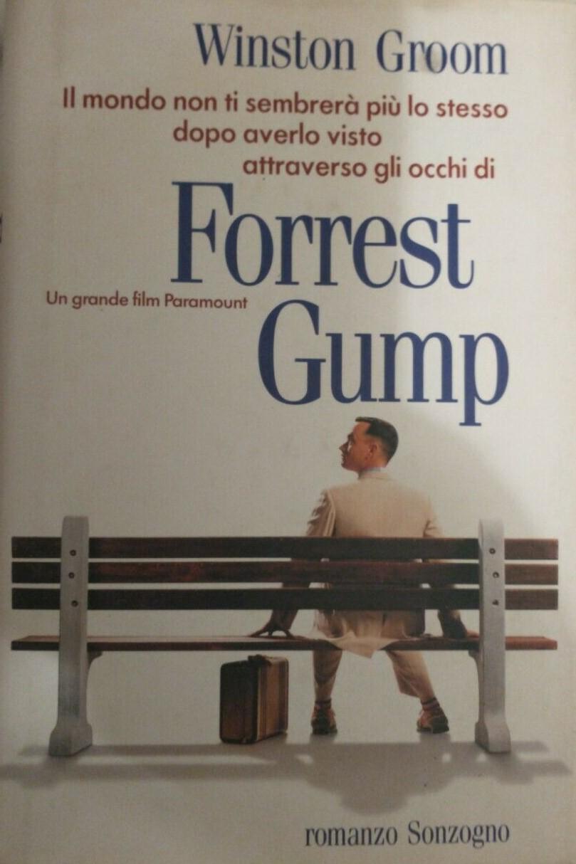 FORREST GUMP LIBRO ITALIANO (prima edizione Sonzogno introvabile) 1994 – 50 €