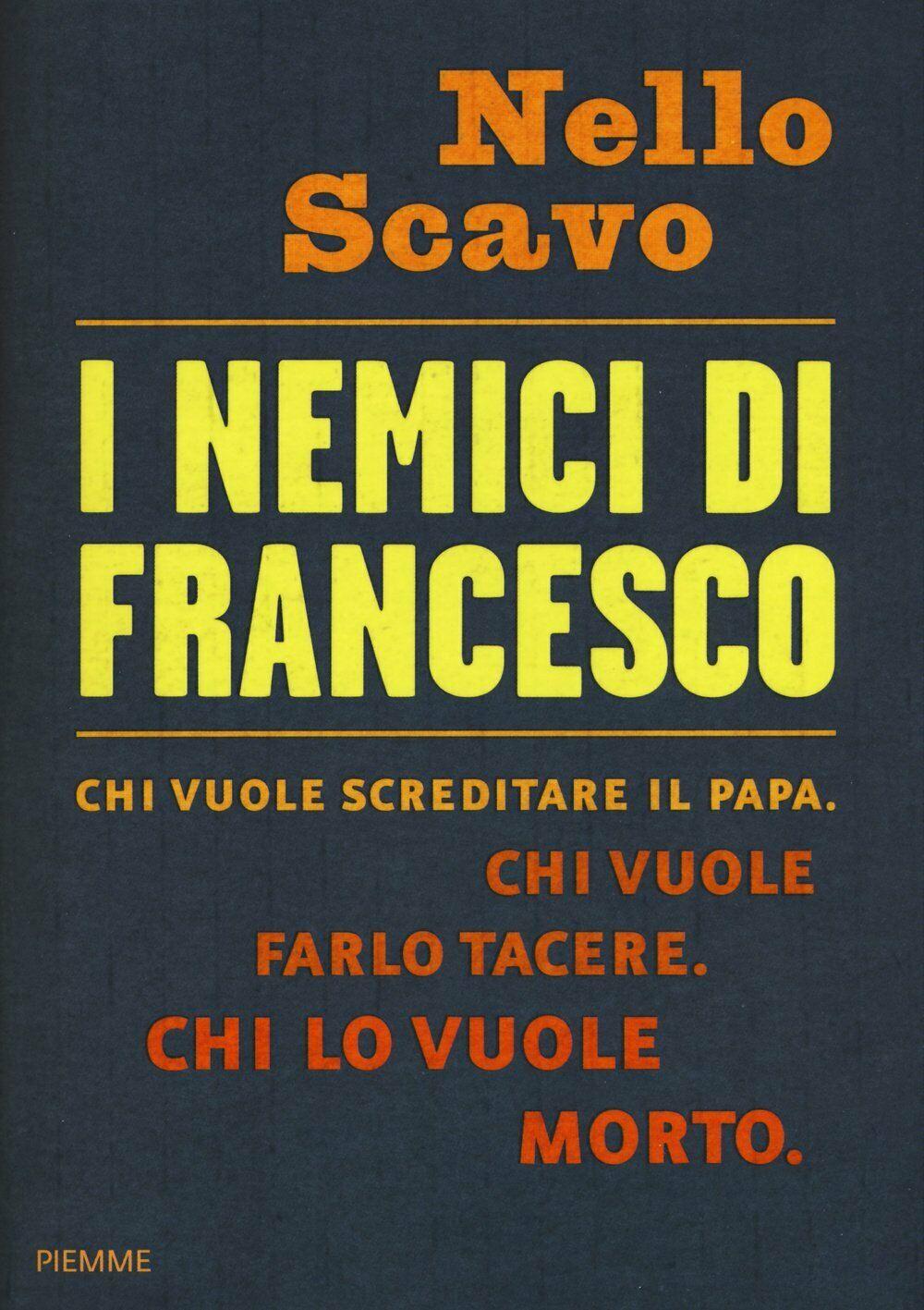 """""""I nemici di Francesco"""" di Nello Scavo al mercatino: dietro le quinte del Vaticano"""