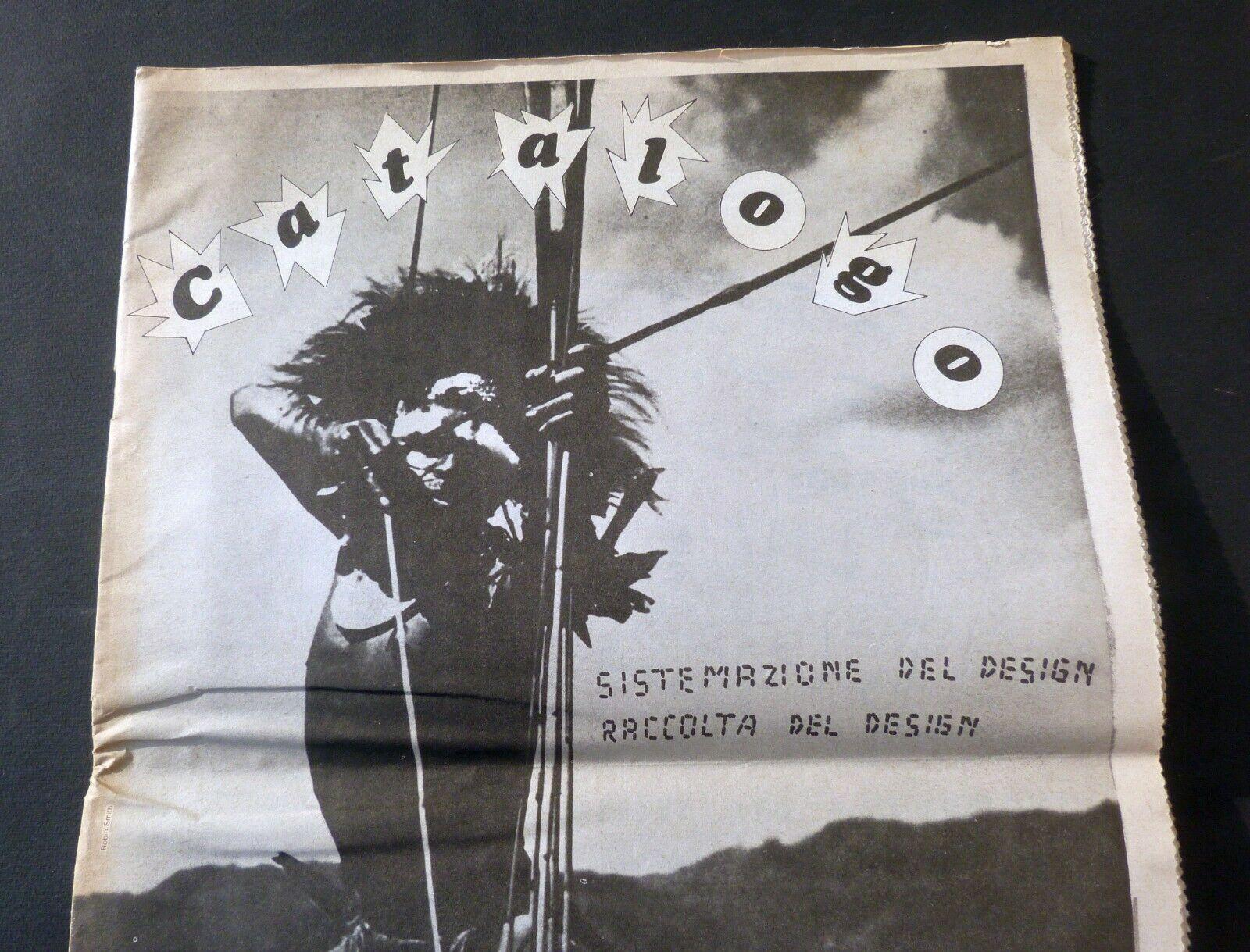 """In asta rarissimo numero unico di """"Catalogo Sistemazione del Design"""" – Sottsass Castiglioni Bellini Tartaglia di Michele (1979)"""