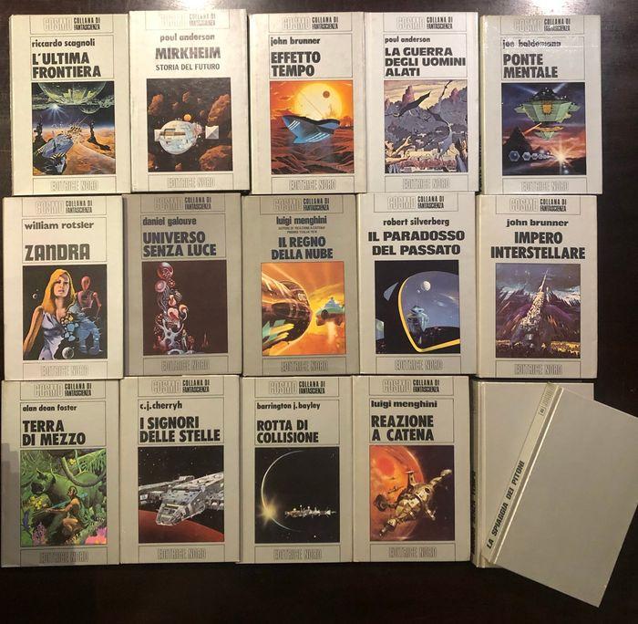 """Fantascienza: siete un fan della collana """"Cosmo Argento"""" della Editrice Nord? In asta i primi 175 numeri (1970-1987)"""