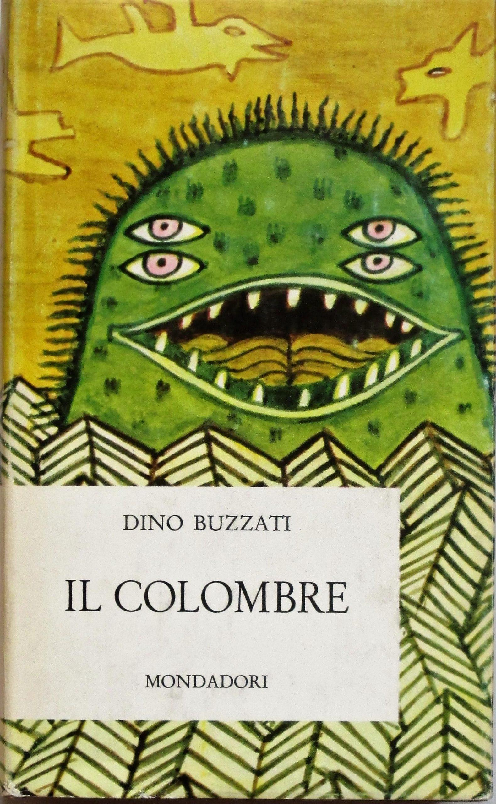 """Una copia della prima edizione de """"Il Colombre"""" di Dino Buzzati (1966) a 40 euro"""