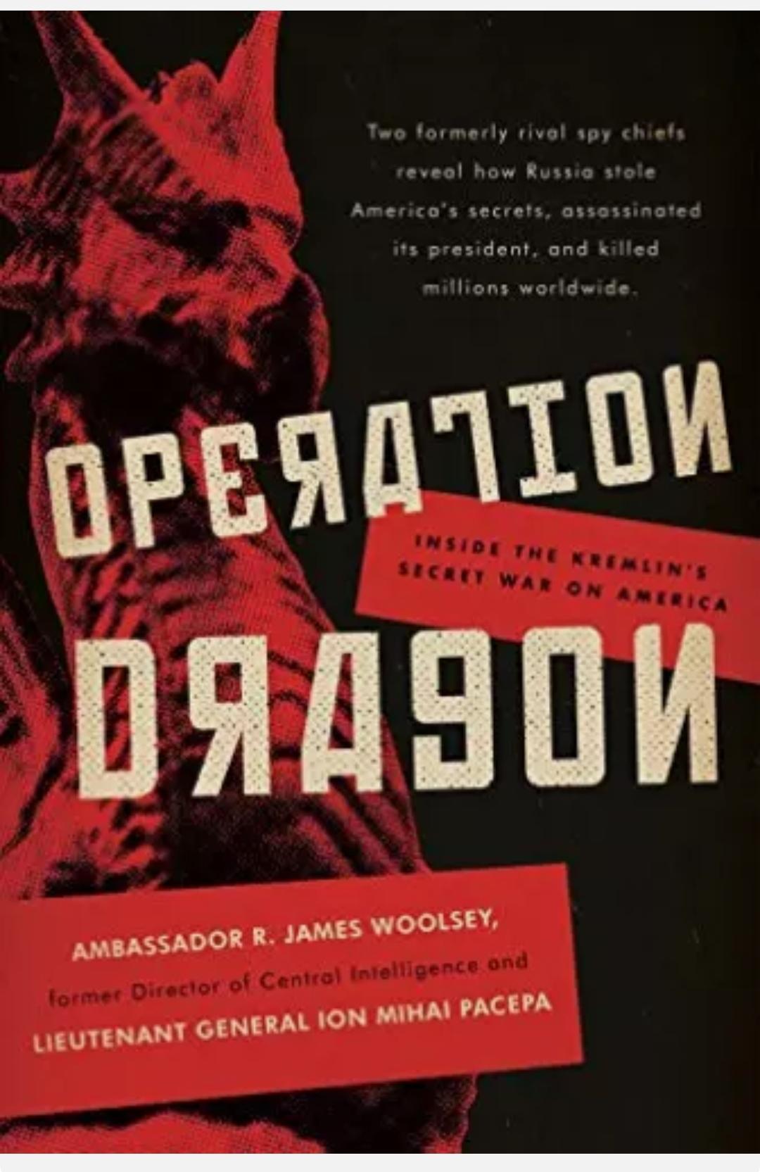 Woolsey R. James – Operation Dragon IL LIBRO SCANDALO SU J. F. KENNEDY