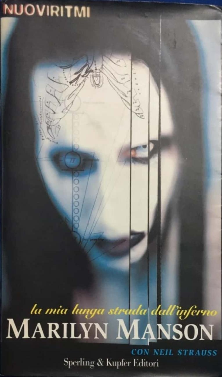 Marilyn Manson libro in italiano rarissimo completo di immagini e fotografie