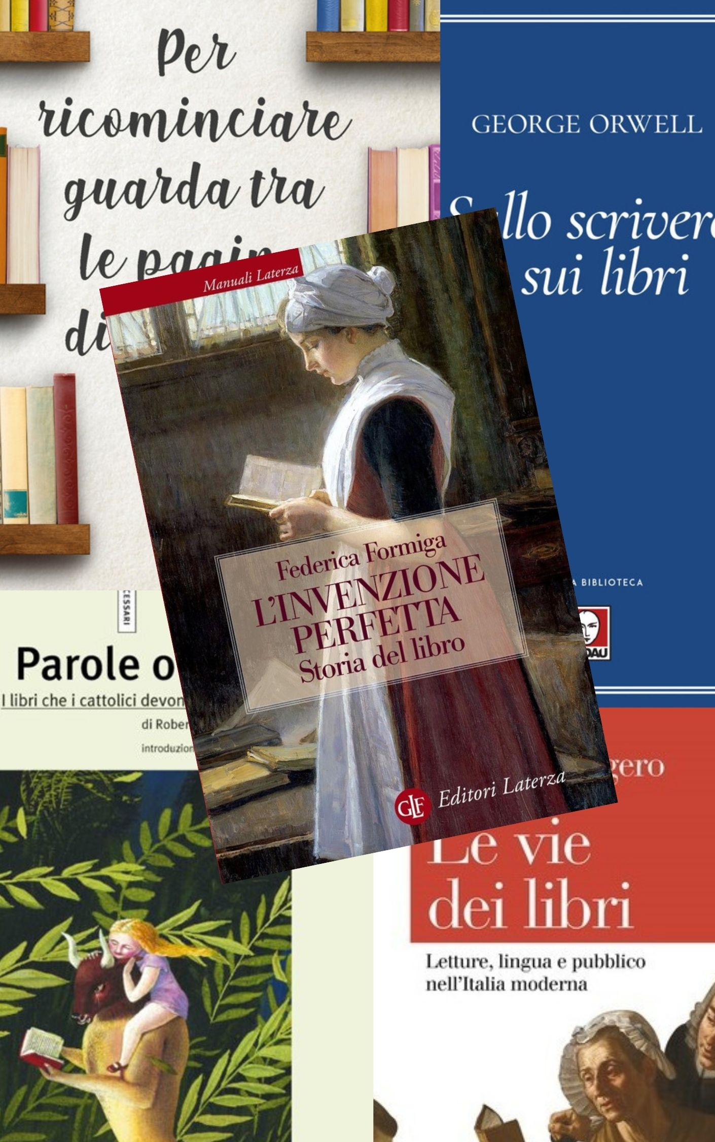Qualche libro sui libri in uscita nei prossimi giorni di marzo 2021: bibliofili, che nessun dorma!